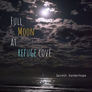 Full Moon Glistening over Water