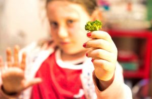 Child refusing to eat broccoli